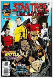 Star Trek Unlimited #8 (Marvel, 1998) VF/NM