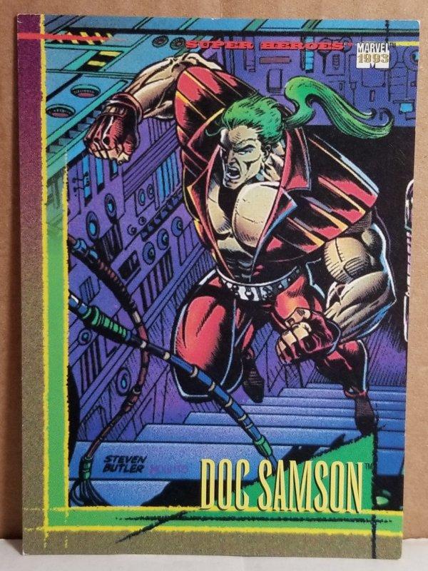 1993 Marvel Universe #7 Doc Samson