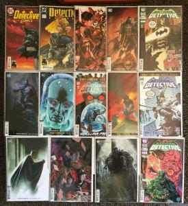 Detective Comics 1000 1004 1005 1006 1008 1013 1016 1017 1018 1020 14 Book Lot