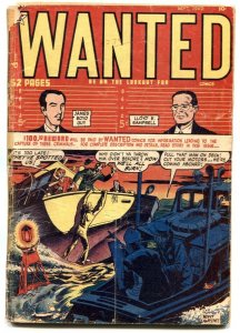 Wanted #22 1949- Golden Age Crime G