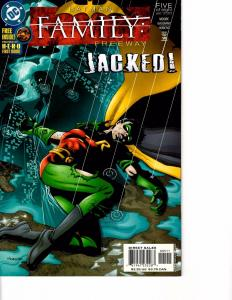 Lot Of 2 DC Comic Book Batman Family Freeway #5 and Titans #34 AH12