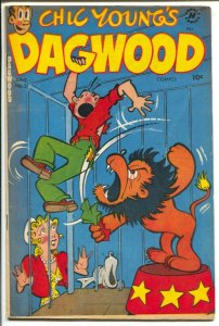 Dagwood #31 1953-Harvey-Chic Young-Blondie-Popeye-Little King-puzzle page-lio...