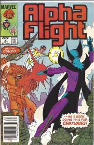 Lot of 10 Alpha Flight Marvel Comics # 21 22 23 24 25 26 27 28 29 30 BH4
