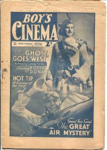 Boy's Cinema #844 1936-newspaper format-film novelization-Beery-FR/G