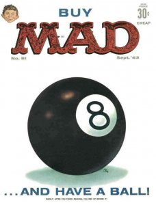 Mad #81 VG; E.C   low grade comic - save on shipping - details inside
