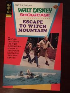 DISNEY RETURN TO WITCH MOUNTAIN! GOLD KEY GLOSSY VF OLD TV SHOW! BRIGHT COLORS