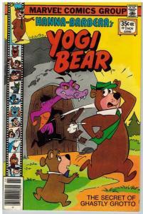 YOGI BEAR (1977 MARVEL) 1 VG-F Nov. 1977 Marvel/ Hanna COMICS BOOK