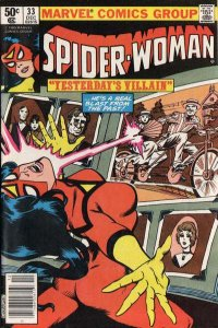Spider-Woman (1978 series) #33, VF (Stock photo)