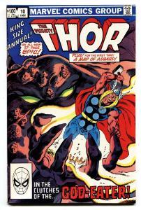 THOR ANNUAL #10-1982 Marvel Comic Book-GOD-EATER