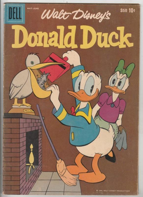 Donald Duck #65 (May-59) FN+ Mid-Grade Donald Duck