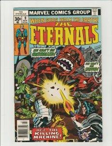 Eternals #9 (Marvel 1977) 1st Sprit Eson Nezzarr Hargen VF Jack Kirby Bronze Age