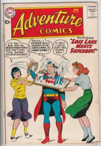 Adventure Comics #261 (Jun-59) FN+ Mid-High-Grade Superboy, Green Arrow, Aqua...