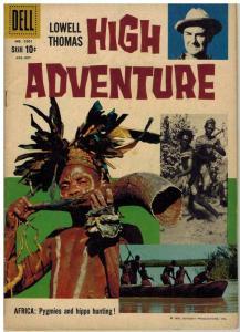 HIGH ADVENTURE (1958-1959 DELL) F.C.1001 VG+ Oct. 1959 COMICS BOOK