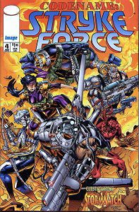 Codename: Stryke Force #4 VF; Image | save on shipping - details inside