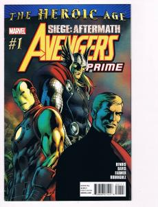 Avengers Prime # 1 Marvel Comic Books Hi-Res Scans Awesome Issue Modern Age! S10