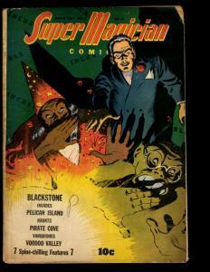 Super Magician Comics Vol. # 2 # 11 VG/FN 1944 Golden Age Comic Book Voodoo NE3