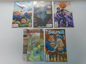 Superman Supergirl Maelstrom set #1-5 8.0/VF (2008)