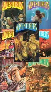 ADVENTURERS BOOK 3 (AC)   1,1(LTD ED),2-6  KENT BURLES COMICS BOOK