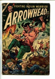 ARROWHEAD  #2-1954-ATLAS-JOE MANEELY COVER-JOE SINOTT INTERIORS-vg minus