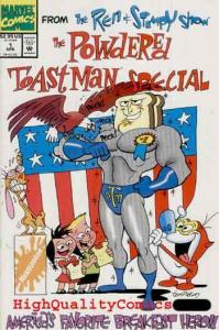 REN & STIMPY POWDERED TOASTMAN SPECIAL , NM+, Breakfast Hero, more RS in store
