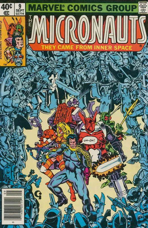 Micronauts (Vol. 1) #9 FN Marvel - save on shipping - details inside