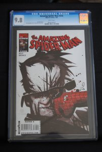 Amazing Spiderman #576, Joe Kelly Story. 9.8