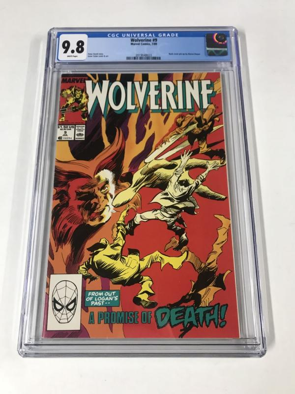 Wolverine (1988) #9 CGC 9.8