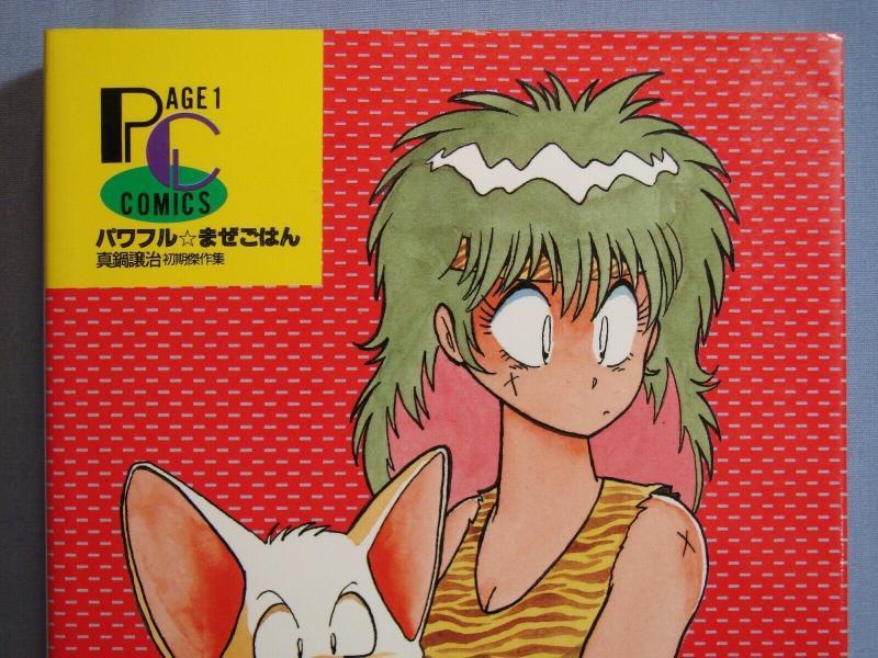 Powerful Mazegohan Manga Anime Art Book Page 1 Comics Caravan Kidd Dragonball!!!