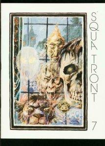 SQUA TRONT #7-EARLY EC FANZINE-1977-BERNIE KRIGSTEIN ISSUE-INTERVIEW--VF/NM