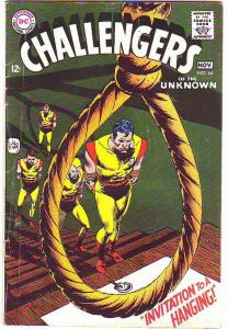 Challengers of the Unknown #64 (Nov-68) VG/FN Mid-Grade Challengers of the Un...