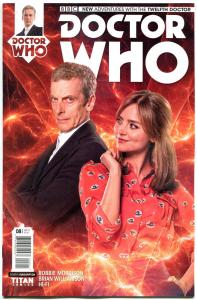 DOCTOR WHO #8 B, VF, 12th, Tardis, 2014, Titan, 1st, more DW in store, Sci-fi