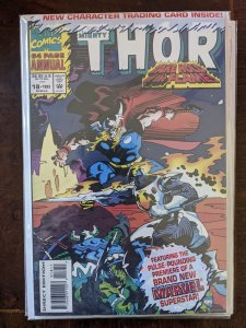 The Mighty Thor Annual #18 (1993) EPIC~ STILL IN POLYBAG WITH CARD!!!