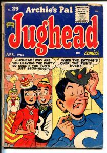 Archie's Pal Jughead #29 1955-Archie-Betty Veronica-Katy Keene-Al Capp-VG-