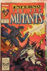 New Mutants  71  VG/FN