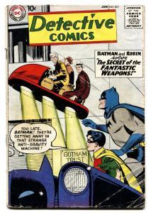 DETECTIVE COMICS #263-1959-BATMAN-DC SILVER AGE-VG-