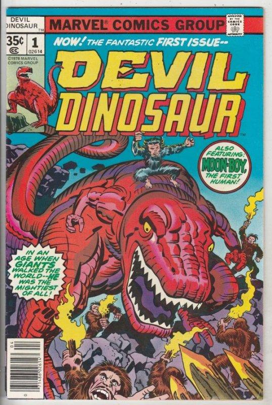 Devil Dinosaur #1 (Apr-78) VF/NM High-Grade Moon Boy