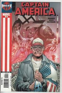 Captain America #10 (Oct-05) NM/NM- High-Grade Captain America