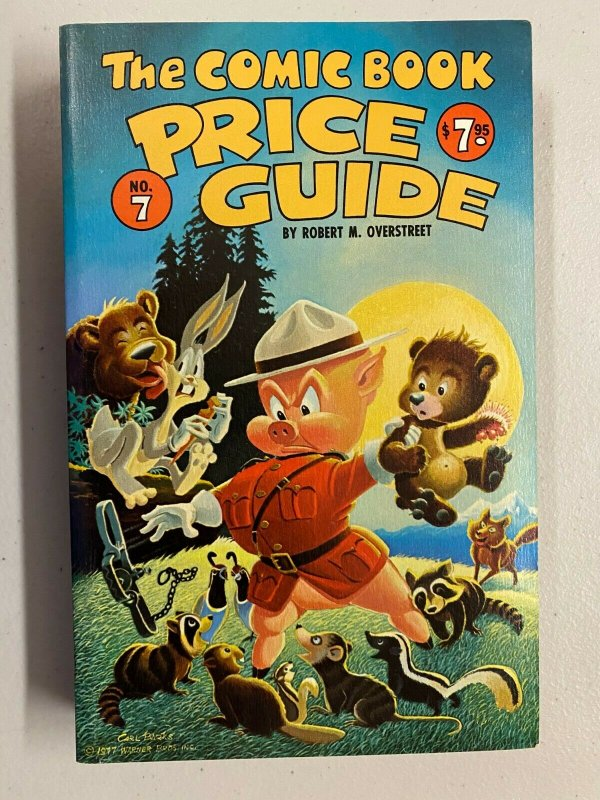 The Comic Book Price Guide #7 Softcover 8.0 VF (1977)