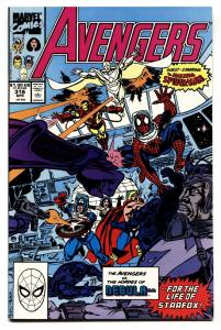 Avengers #316 copper age comic book Spider-Man joins the Avengers MCU