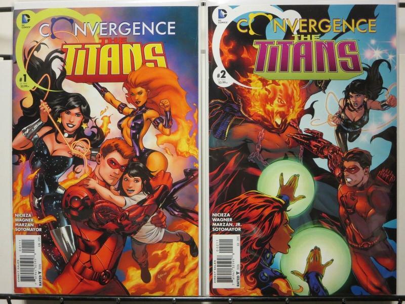 CONVERGENCE TITANS (2015) 1-2