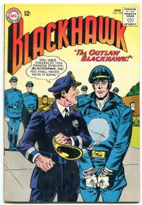 BLACKHAWK #194 1964-DC COMICS-NAZI LAVA TROOPS!! SCI FI FN/VF