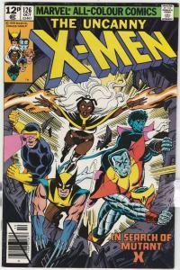 X-Men British Variant #126 (Oct-79) VF/NM- High-Grade X-Men