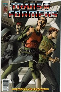Transformers: Infiltration #3 (2005) Raiz Variant NM