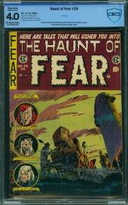 Haunt of Fear #28 (EC, 1954) CBCS 4.0