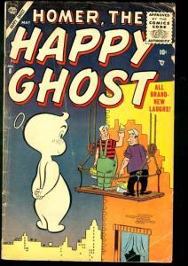 HOMER, THE HAPPY GHOST #8-ATLAS-DAN DECARLO ART VG