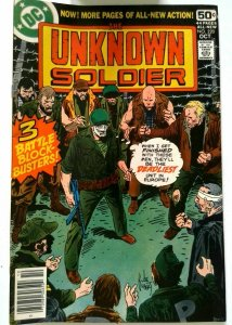 Unknown Soldier #220 DC 1978 VF+ Bronze Age 1st Printing Comic Book