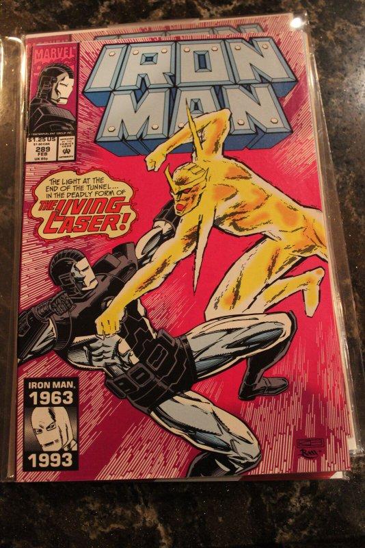 IRON MAN #289 (Marvel,1993) Condition NM+