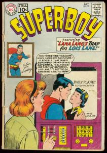 SUPERBOY COMICS #90 1961-DC COMICS-PETE ROSS LOIS LANE FR