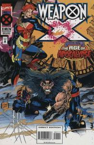Weapon X #1 VF/NM; Marvel | save on shipping - details inside