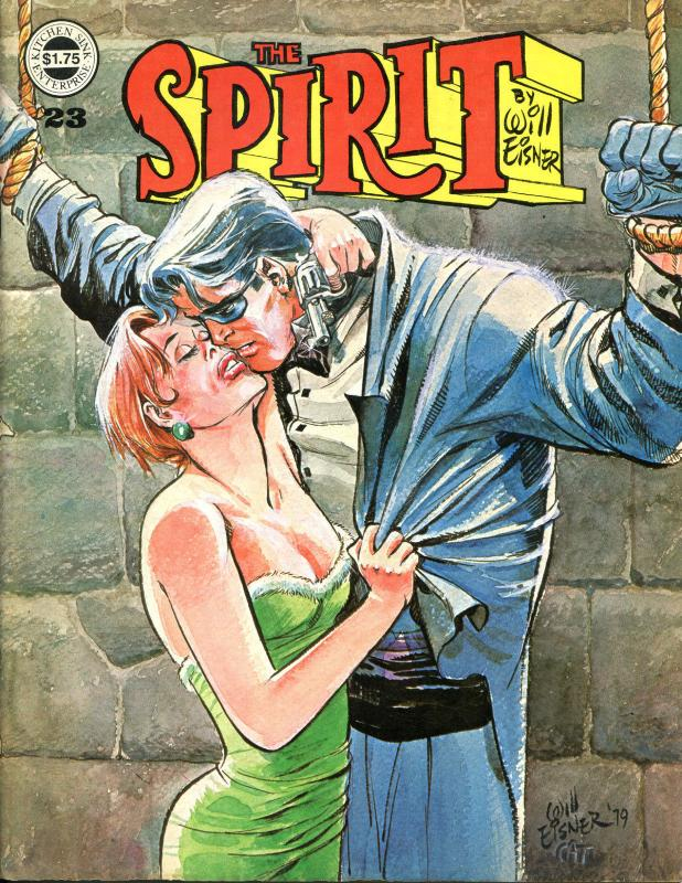 The SPIRIT #18 20 23 24, FN+ FN- VF VF-, Kitchen, Will Eisner, 1974, mags